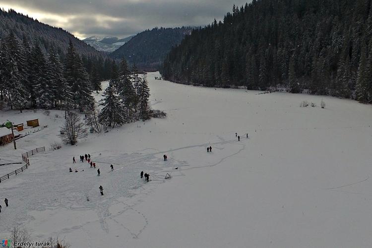A Gyilkos tó télen is szép