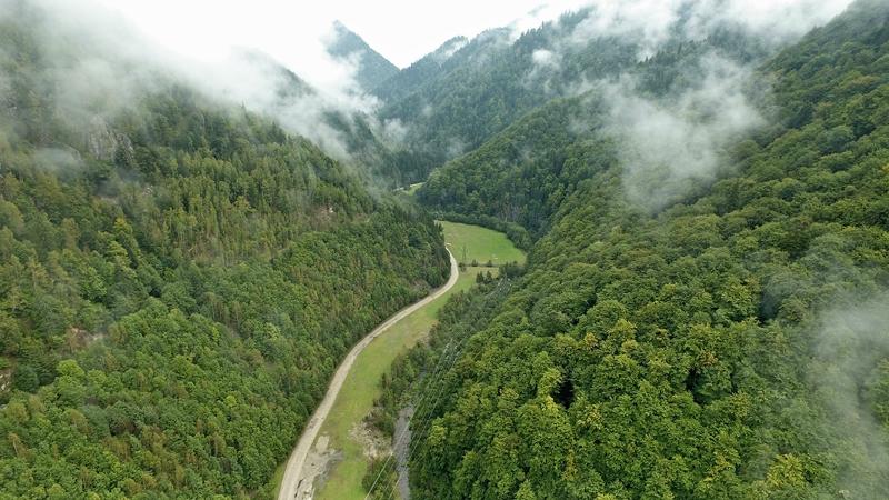A Malomvíz patak völgye