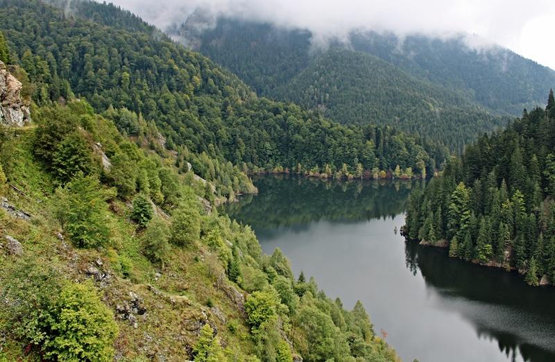 A víztározó nyugati része
