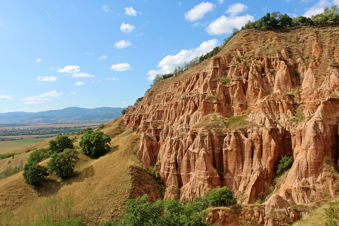 """Vörös-árok, az Erdélyi """"Grand canyon"""". Rapa rosie"""