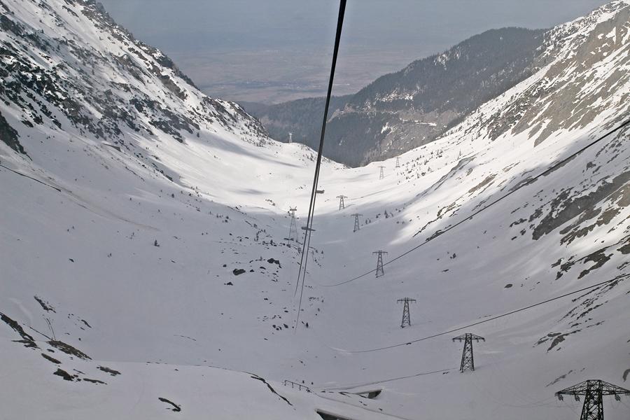 A Transzfogarasi út völgye